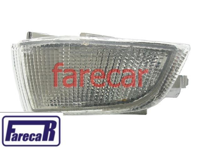 Lanterna Pisca Seta Parachoque Escort XR3 93 a 96 Cristal  - Farecar Comercio