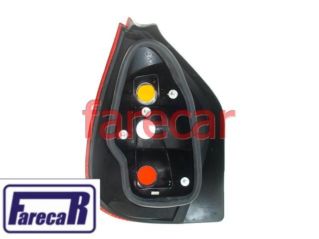 Lanterna Palio G2 01 a 03 e Fire 03 a 10 Carcaça Preta  - Farecar Comercio