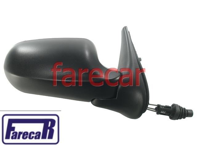 Espelho Retrovisor Uno Flex 4p 05 a 10 Controle Alavanca  - Farecar Comercio