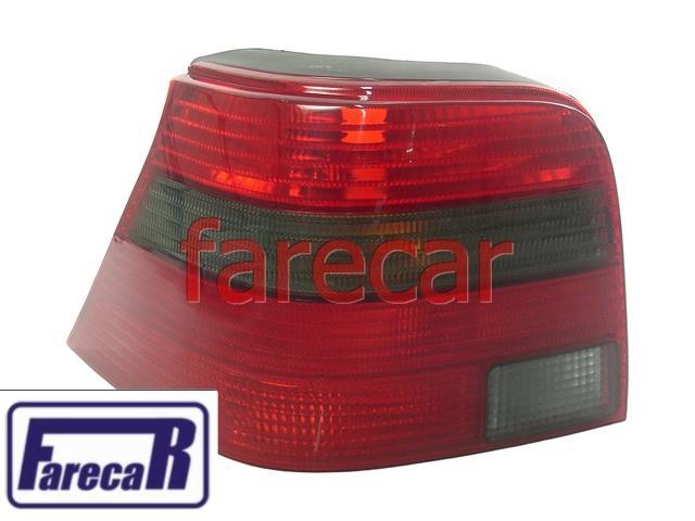 Lanterna Traseira Golf 1999 a 2007 Pisca e Ré Fume  - Farecar Comercio