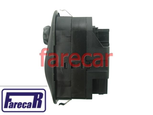 Botao Espelho Retrovisor e Vidro Eletrico Duplo Peugeot 206  - Farecar Comercio