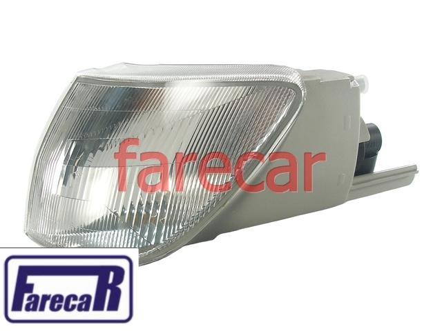 Lanterna Pisca Seta Cristal Peugeot 306 93 a 96 Esquerda Original  - Farecar Comercio