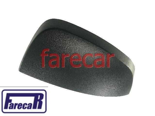 Capa Preta do Espelho Retrovisor Metagal GM Meriva 2002 a 2012  Celta 2007 a 2015  Prisma 2007 a 2012   - Farecar Comercio