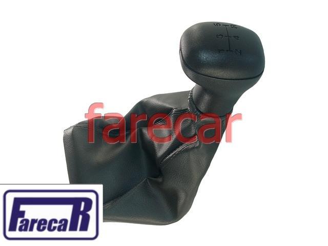 Coifa Com Bola Manopla Cambio Fiat Uno Mille Way 04 a 10  - Farecar Comercio