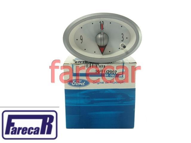 Relogio Analogico Hora Painel Ford Ka 97 a 05 Original  - Farecar Comercio