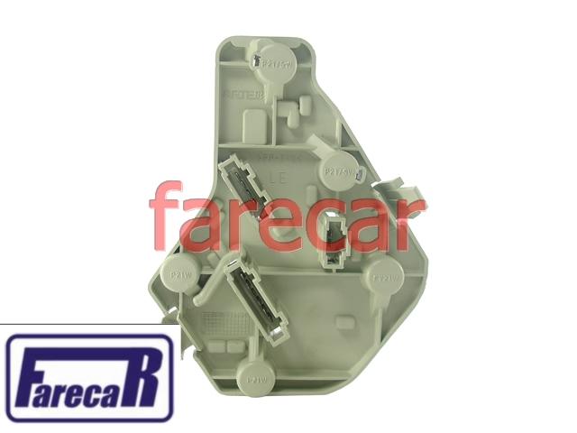 Soquete Circuito Da Lanterna Vw Polo Sedan 00 a 02 Original  - Farecar Comercio