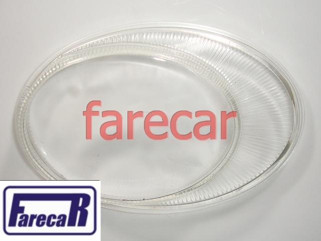 Lente de Vidro Farol de Milha Peugeot 206 98 a 04  - Farecar Comercio