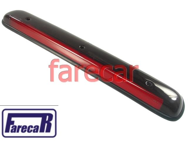 Lente da Lanterna de freio do teto Brake Light Pick Up Corsa Montana Blazer Nova  - Farecar Comercio