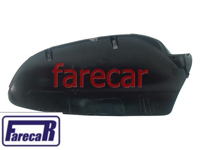 Capa Espelho Retrovisor Preta Fosca Fox 2003 a 2009 FICOSA  - Farecar Comercio