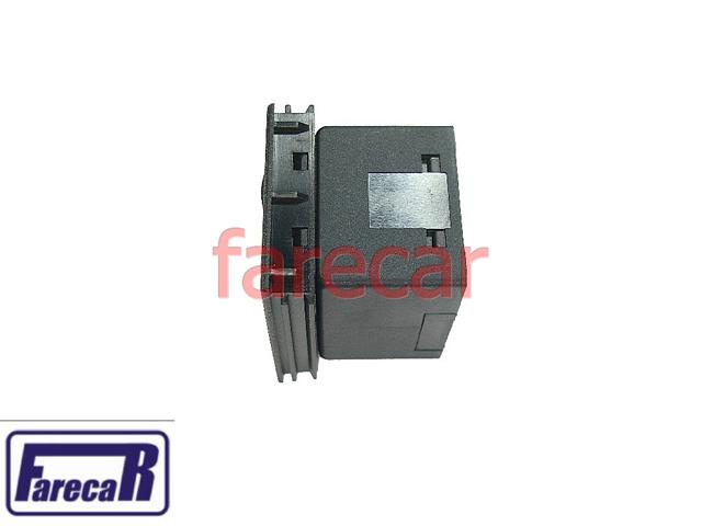 Botao Vidro Eletrico Duplo Fiat Uno Elba Led Ambar  - Farecar Comercio