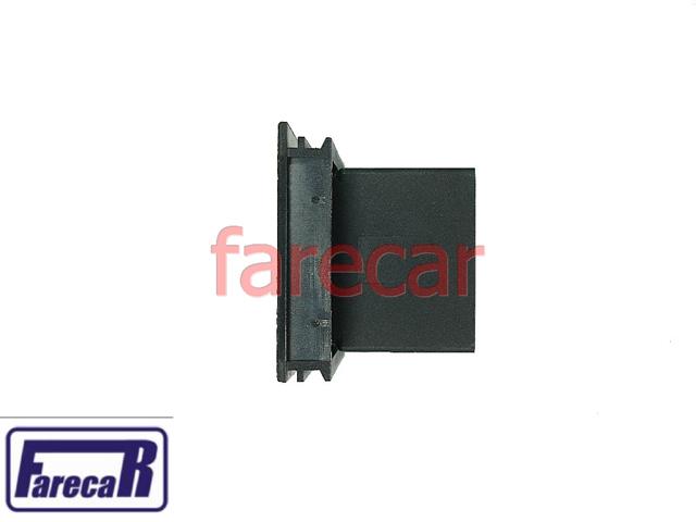 Botao Vidro Eletrico Simples Fiat Uno Elba Led Ambar  - Farecar Comercio