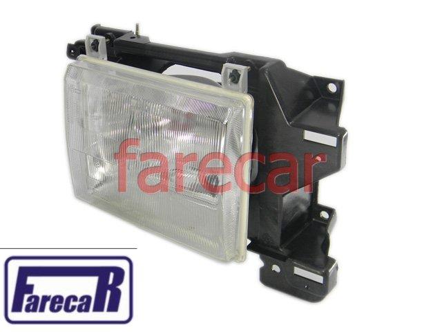 PAR DE FAROL F1000 93 94 95 96 ORIGINAL CIBIE NOVO F/1000 F-1000 F4000  - Farecar Comercio
