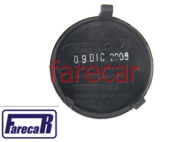 TAMPA DO FURO REBOQUE PARACHOQUE TRASEIRO FORD FOCUS HATCH 2004 A 2008 - 04 05 06 07 08 - 2005 2006 2007  - Farecar Comercio