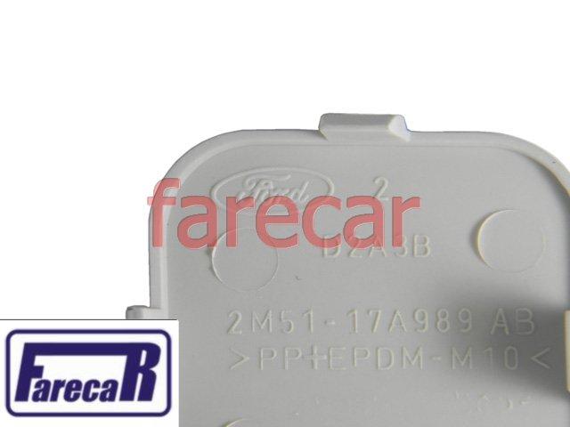 TAMPA DO FURO REBOQUE PARACHOQUE DIANTEIRO FORD FOCUS 2004 A 2008 - 04 05 06 07 08 - 2005 2006 2007  - Farecar Comercio