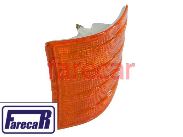 PISCA SETA DIANTEIRA MERCEDEZ BENZ MB 709-912 AMBAR  - Farecar Comercio