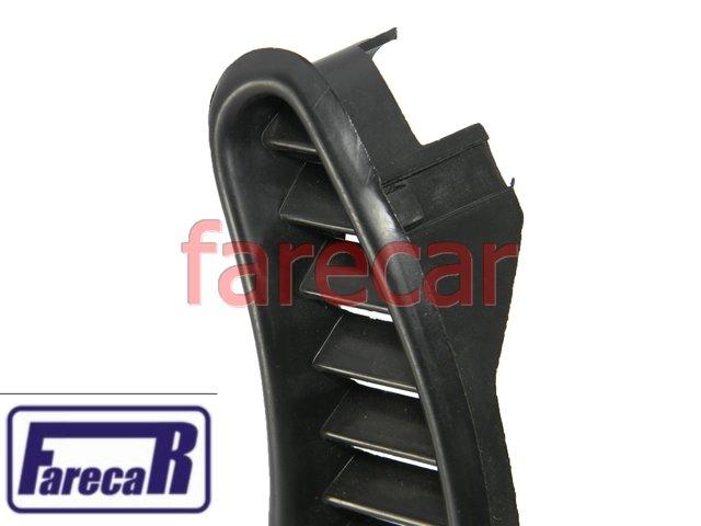 MOLDURA GRADE DE AR LATERAL ORELHA FUSCA  - Farecar Comercio