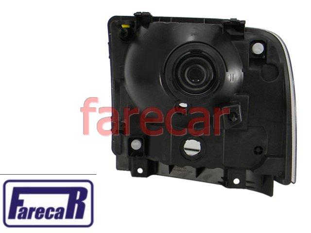 FAROL CRISTAL FORD F-250 2007 A 2011 F-350 F-4000 F350 F4000 F250 F/350 F/4000 F/250 2008 2009 2010  07 08 09 10 11  - Farecar Comercio