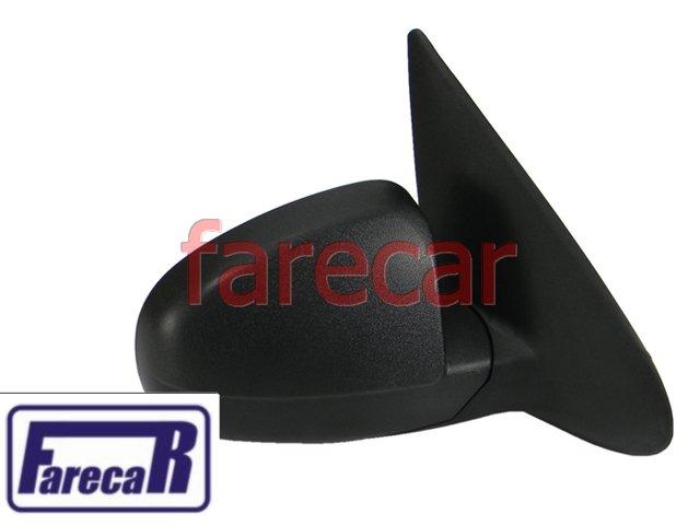 ESPELHO RETROVISOR EXTERNO COM CONTROLE POR ALAVANCA INTERNA GM CELTA 2000 A 2006 00 01 02 03 04 05 06 2001 2002 2003 2004 2005  - Farecar Comercio