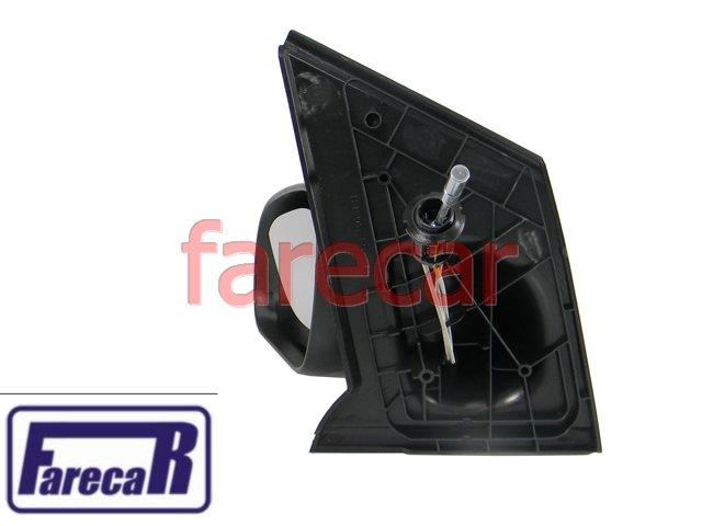 ESPELHO RETROVISOR EXTERNO COM CONTROLE MANUAL ALAVANCA FOX SPACEFOX CROSSFOX 2003 A 2009 03 04 05 06 07 08 09 2003 2004 2005 2006 2007 2008 2009  - Farecar Comercio