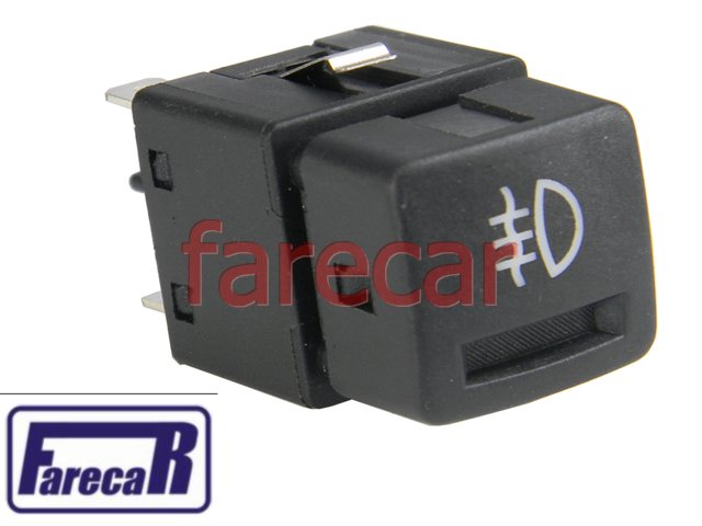 BOTAO INTERRUPTOR FAROL DE MILHA DO PARACHOQUE CORSA HATCH SEDAN PERUA SW WAGON PICK UP 1994 A 2002  E CLASSIC ATE 2010 94 95 96 97 98 99 00 01 02 03 04 05 06 07 08 09 10 1995 1996 1997 1998 1999 2000  - Farecar Comercio