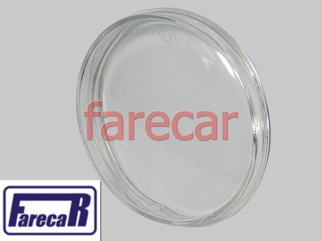 LENTE DE VIDRO USADA DO FAROL DE MILHA DO PARACHOQUE GOL RALLYE G5 2008 A 2012 CROSSFOX 2010 A 2013 SAVEIRO CROSS 2008 A 2012 SPACECROSS 2011 A 2013 08 09 10 11 12 2009 2010  - Farecar Comercio