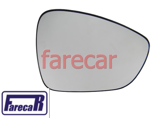 SUBCONJUNTO LENTE DE VIDRO COM BASE DO ESPELHO RETROVISOR CITROEN AIR CROSS 2010 A 2012 10 11 12 2011  - Farecar Comercio