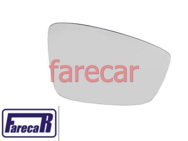 LENTE DE VIDRO COM BASE DO ESPELHO RETROVISOR VW GOL G5 2008 A 2012 VOYAGE G5 SAVEIRO G5 08 09 10 11 12 2009 2010 2011  - Farecar Comercio
