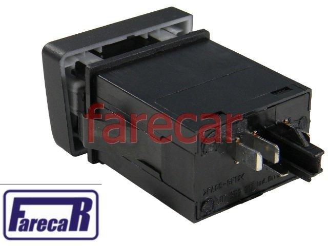 BOTAO INTERRUPTOR PAINEL COMANDO LUZ DE CACAMBA VW SAVEIRO G5 2008 A 2013 - 08 09 10 11 12 13 2009 2010 2011 2012  - Farecar Comercio
