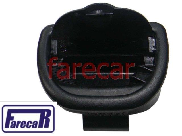 CINZEIRO PRETO DA LATERAL PORTA TRASEIRA VW GOL 4 PORTAS G2 G3 1995 A 2005 95 96 97 98 99 00 01 02 03 04 05  - Farecar Comercio