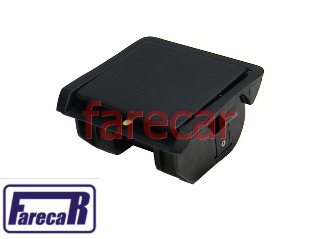 kit console coifa cinzeiro preto VW Gol G2 Bola Saveiro Parati 1995 1996 1997 1998 1999 95 96 97 98 99   - Farecar Comercio