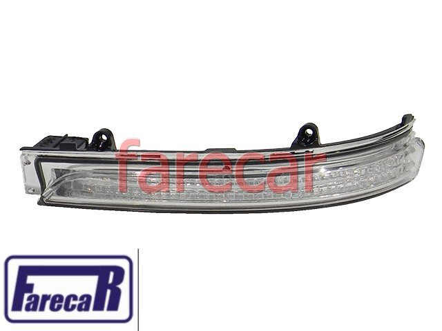 PISCA DO ESPELHO RETROVISOR VW GOL G6 2013 POLO 2012 A 2013 GOLF 2012 A 2013 FOX CROSSFOX 2010 A 2013 SPACEFOX SPACECROSS 2011 A 2013 UP - 10 11 12 13  - Farecar Comercio
