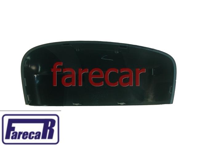 CAPA PRETA DO ESPELHO RETROVISOR SEM PISCA METAGAL VW GOL G5 2008 A 2011 VOYAGE G5 2009 A 2011 SAVEIRO G5 2008 A 2011 - 08 09 10 11 2010  - Farecar Comercio