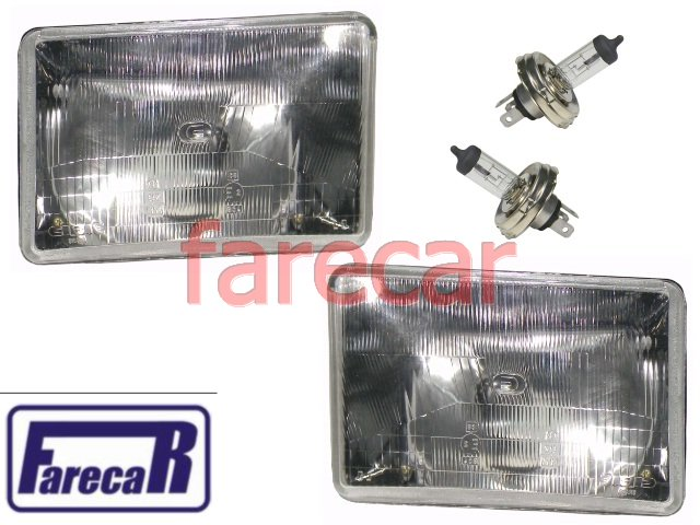 PAR FAROL ORIGINAL CIBIE FIAT 147 EUROPA PANORAMA PICK UP CITY 1980 A 1982  - Farecar Comercio