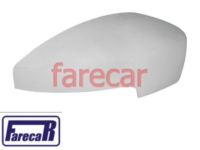 CAPA PRIMER DO ESPELHO RETROVISOR COM FURO PARA PISCA FORD ECOSPORT 2013 2014 - 13 14  - Farecar Comercio