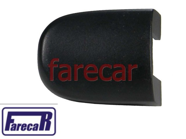 CAPA TAMPA MIOLO CHAVE FECHADA DA MAÇANETA PRETO FOSCO VW GOL FOX GOLF POLO BORA SAVEIRO VOYAGE SPACEFOX CROSSFOX SPACECROSS - Farecar Comercio