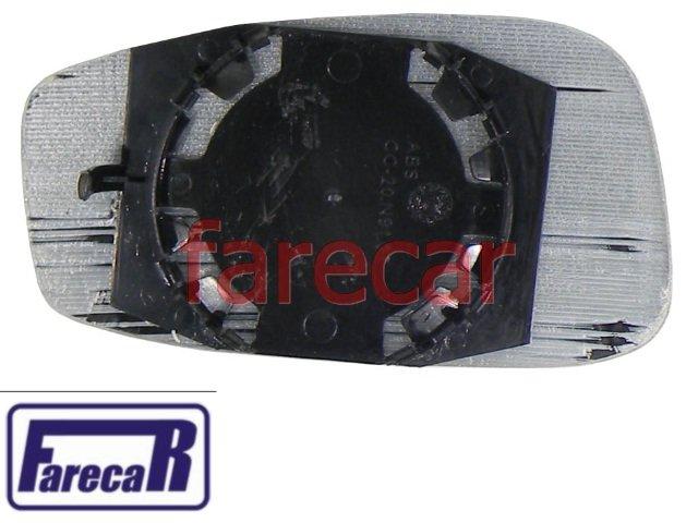SUBCONJUNTO LENTE DE VIDRO COM BASE DO ESPELHO RETROVISOR FIAT IDEA 2005 A 2010 - 05 06 07 08 09 10 2006 2007 2008 2009  - Farecar Comercio