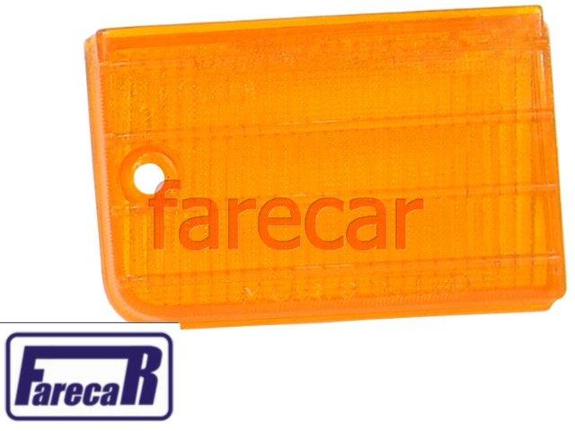 PAR LENTE DA RE AMBAR ORIGINAL M CARTO DA LANTERNA TRASEIRA FIAT 147 1976 A 1986  - Farecar Comercio