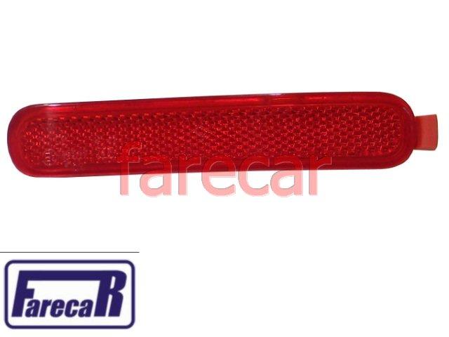 lente refletor refletivo parachoque original Fiat Siena 2002 a 2014 2003 2004 2005 2006 2007 2008 2009 2010 2011 2012 2013  - Farecar Comercio