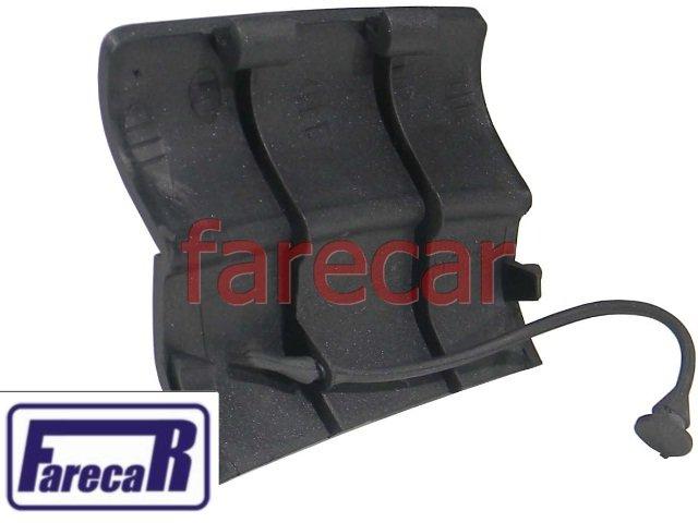 TAMPA FURO MACACO DIANTEIRA ESQUERDA FRISO SPOLER LATERAL VW CROSSFOX 2003 A 2007 03 04 05 06 07 2004 2005 2006 2007  - Farecar Comercio