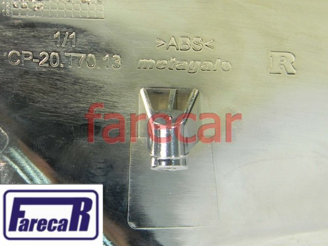 capa inferior cromada do espelho retrovisor VW Amarok 2010 a 2014 10 11 12 13 14 2011 2012 2013  - Farecar Comercio
