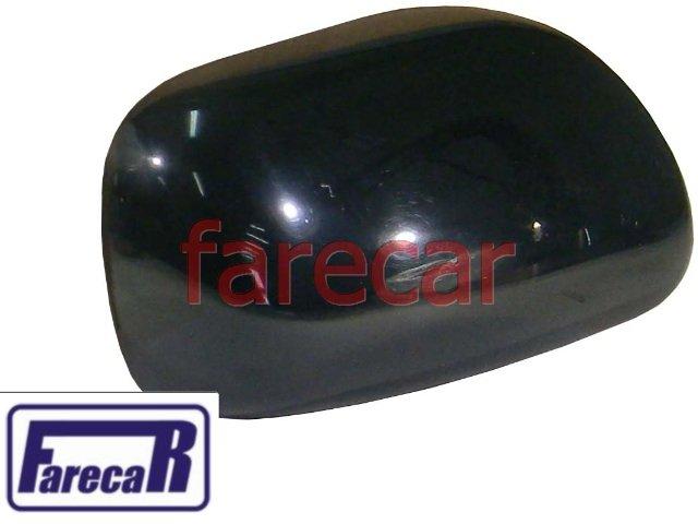 capa do espelho retrovisor externo lado esquerdo toyota corolla 2003 a 2007 fielder 2003 2004 2005 2006  03 04 05 06 07  - Farecar Comercio