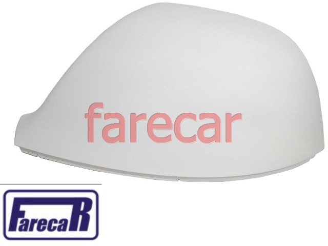 capa primer superior do espelho retrovisor original Metagal VW Amarok de 2010 a 2014 10 11 12 13 14  2011 2012 2013 2014 - Farecar Comercio