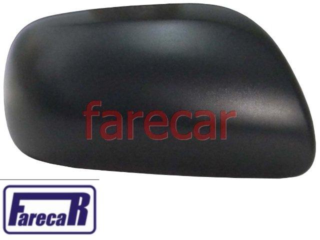 capa preta do espelho retrovisor Toyota Etios 2012 2013 12 13   - Farecar Comercio