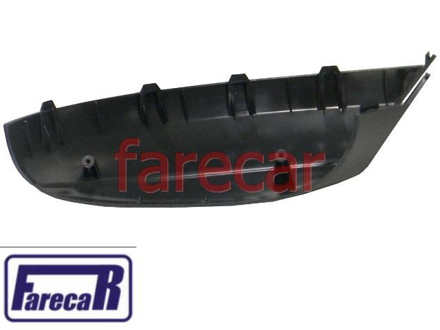 capa inferior preta do espelho retrovisor original Metagal Vw Amarok 2010 a 2014 10 11 12 13 14 2011 2012 2013  - Farecar Comercio