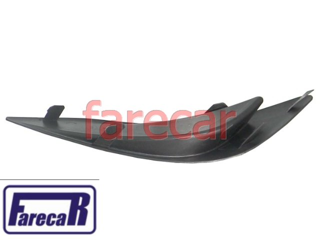 tampa moldura grade sem furo para farol de milha parachoque ford focus 2010 a 2013 10 11 12 13 2010 2011 2012  - Farecar Comercio