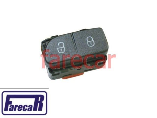 botao da trava eletrica da porta VW Gol G5 Saveiro G5 Voyage G5  - Farecar Comercio