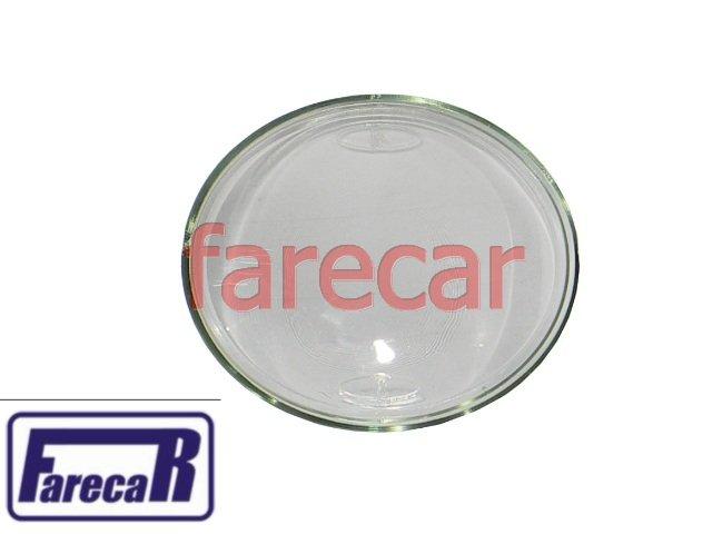 lente de vidro do farol milha neblina do parachoque Vw Jetta 2007 a 2009  - Farecar Comercio