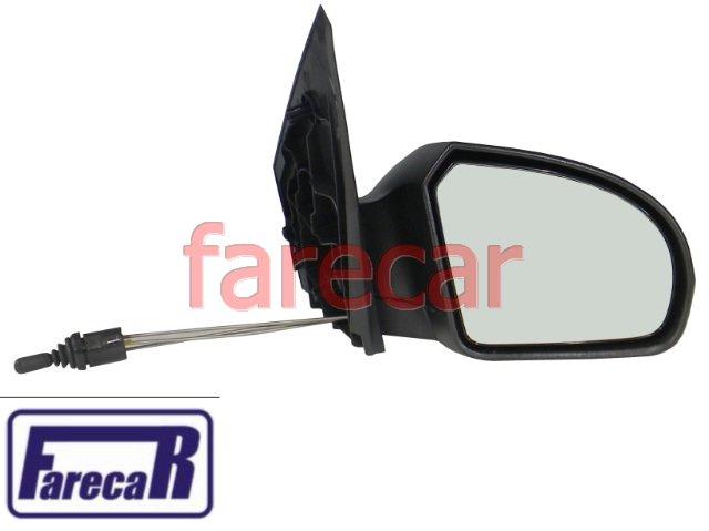 espelho retrovisor controle alavanca Ford Fiesta 2002 a 2014 Fiesta Rocam 02 03 04 05 06 07 08 09 10 11 12 13 14 2003 2004 2005 2006 2007 2008 2009 2010 2011 2012 2013  - Farecar Comercio