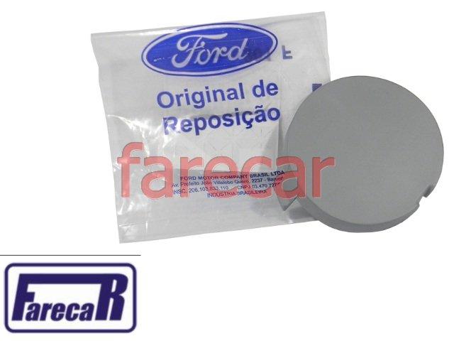 TAMPA DO FURO DO GANCHO DE REBOQUE PARACHOQUE DIANTEIRO FORD ECOSPORT 2013 A 2015 12 13 14 15  2014  - Farecar Comercio
