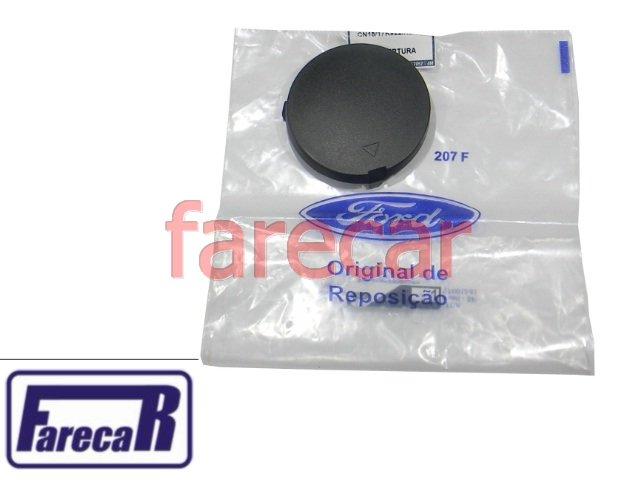 TAMPA DO FURO DO GANCHO DE REBOQUE PARACHOQUE TRASEIRO FORD ECOSPORT 2013 A 2015 12 13 14 15  2014  - Farecar Comercio